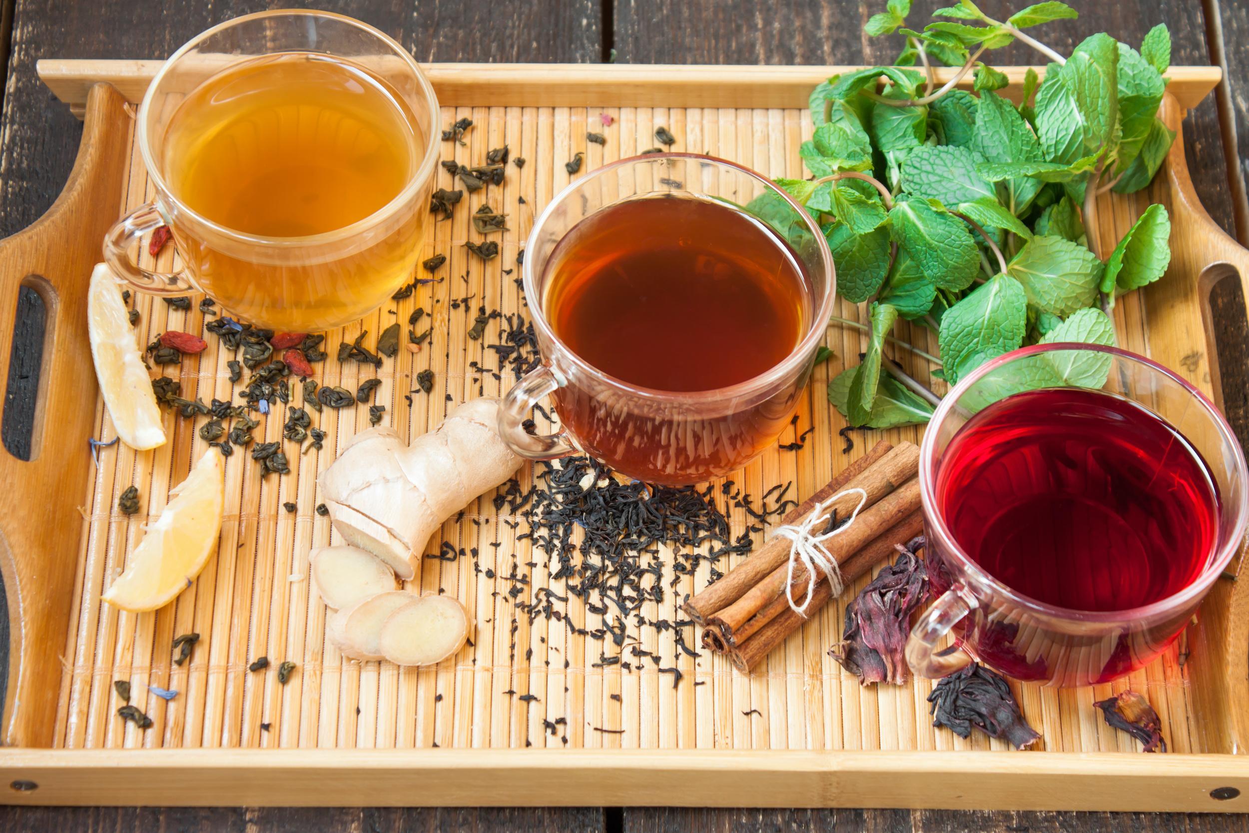 Black Tea | Green Tea | Herbal Tea
